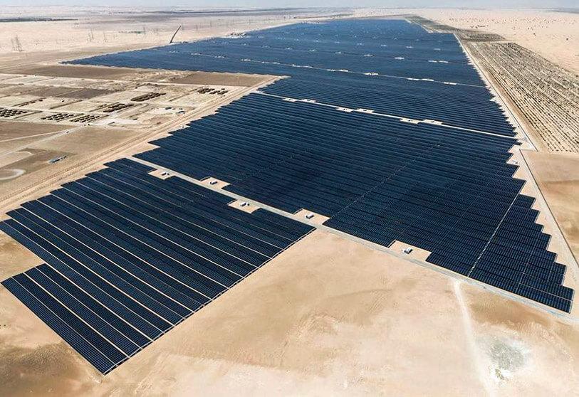 centrale solaire al dhafra